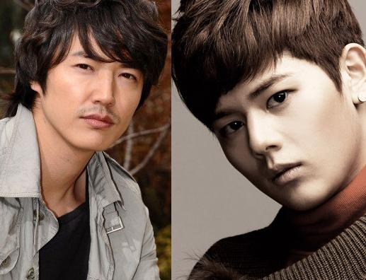 """Secret Garden""s Yoon Sang Hyun & ZE:A's Dong Joon to Be Rivals in Upcoming Drama"
