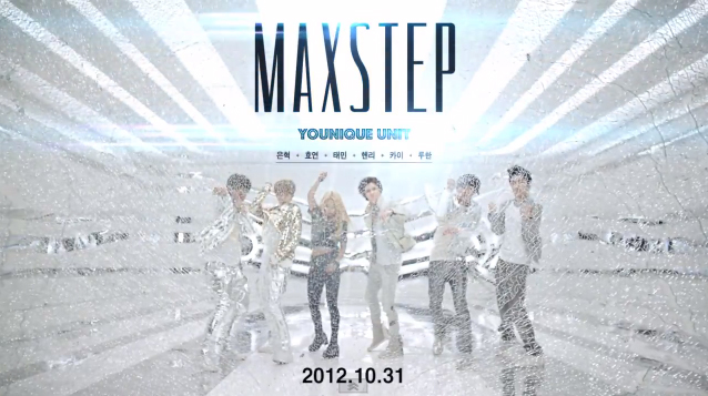 "SM Ent. Releases MV Teaser for Younique Unit's ""MAXSTEP"""
