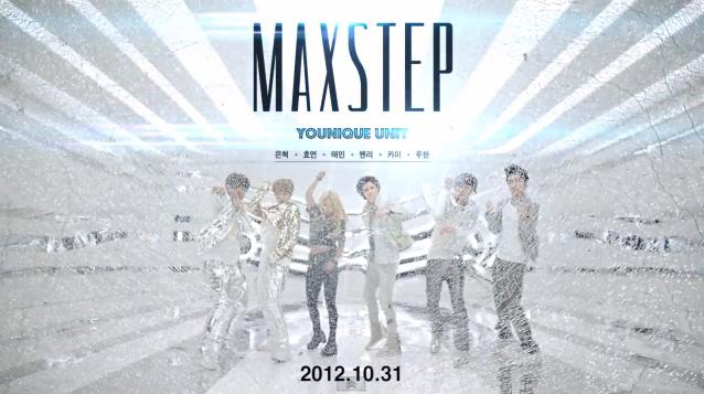 """SM Ent. Releases MV Teaser for Younique Unit's """"MAXSTEP"""""""