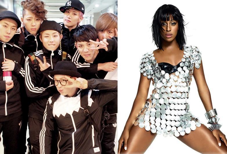 Block B to Collaborate with British Pop Star Alexandra Burke