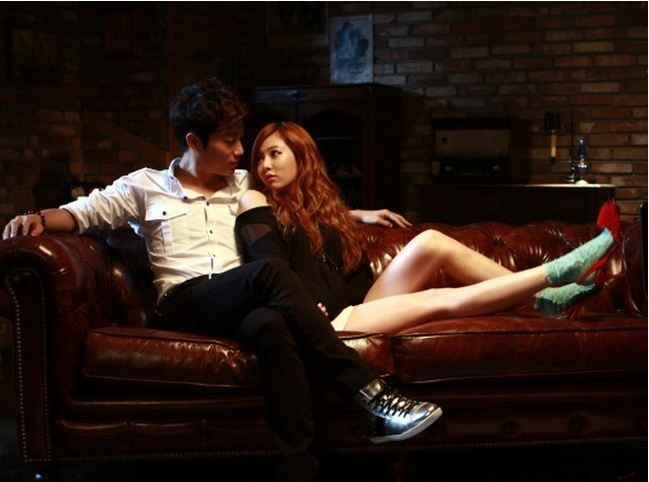BEAST's Doo Joon Gets Intimate with HyunA in Latest Photo Shoot