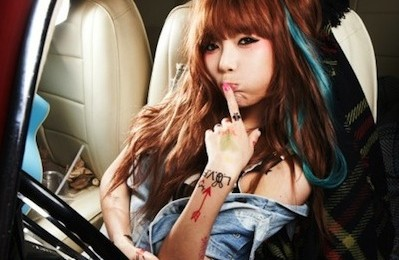 4Minute's HyunA Composes A Song For New Album