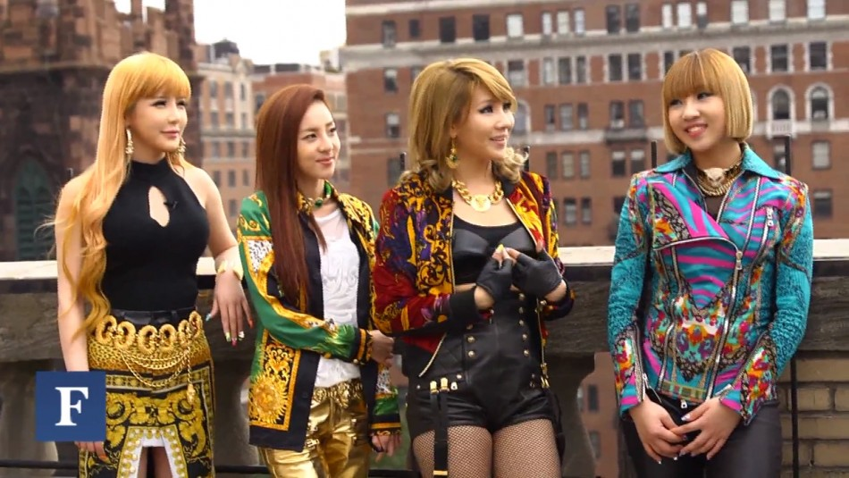 2NE1 Covered By Forbes and Video Interview Included