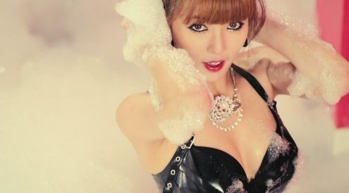 "4minute's HyunA Releases ""Ice Cream"" Video Teaser"