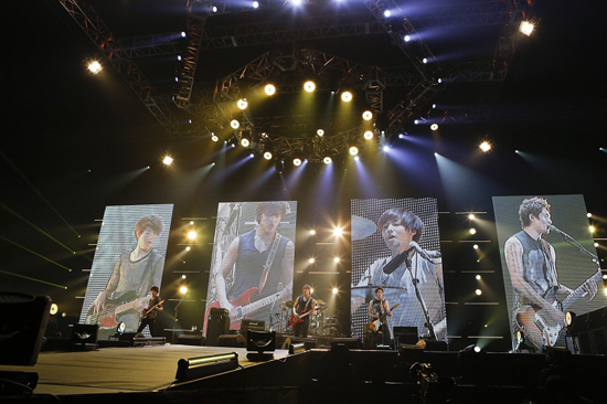 CNBlue Brings in over 100K Fans to Japanese Arena Tour
