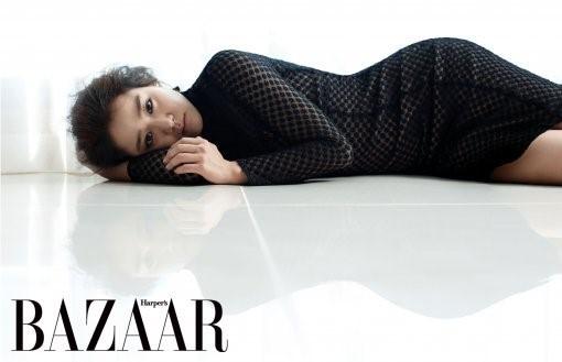 """Moon Geun Young Looks Breathtaking for """"Harper's Bazaar"""""""
