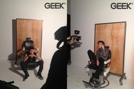 Super Junior's Leeteuk Shaves His Head at Geek Magazine's Photo Shoot
