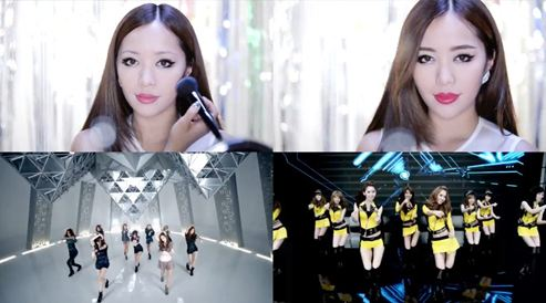 American Makeup Artist Covers DBSK and Girls' Generation's Popular Looks