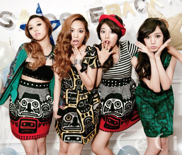 miss A Members Get into A Car Accident But are Not Harmed