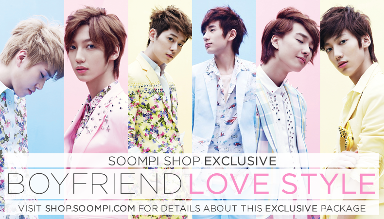 [Soompi Shop] Boyfriend Autographed CD Package!