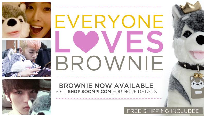 [Soompi Shop] Everyone Loves Brownie!