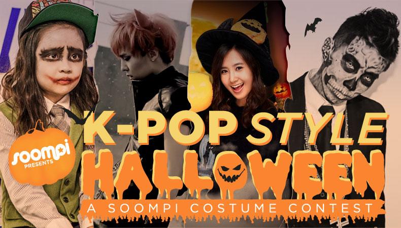 [Soompi Shop] K-Pop Halloween Costume Contest!