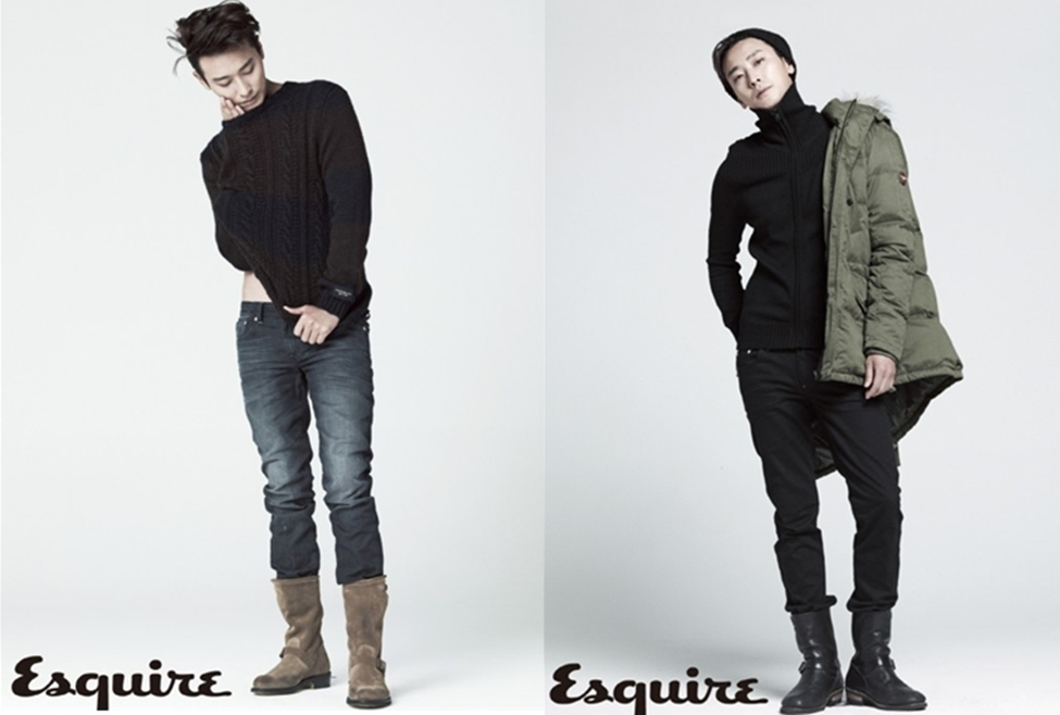 "Joo Ji Hoon As a Chic Man of Winter in ""Esquire"""