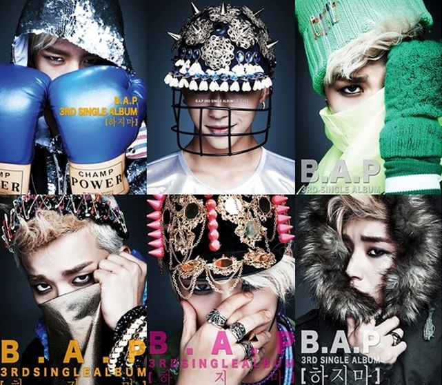 B.A.P. Goes Back to Blonde for Comeback Album