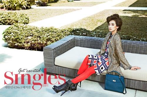 "f(x)'s Victoria Poses for ""Singles"" Magazine"