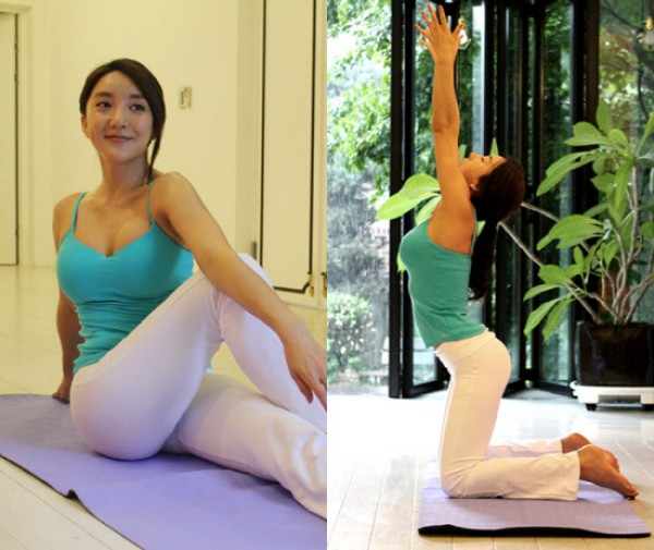Bada Flaunts Her Perfect Yoga Body