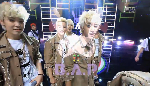 """B.A.P Performs """"Stop It"""" for Music Core Comeback"""