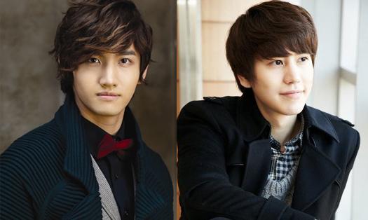 DBSK's Changmin Plants a Kiss on Super Junior's Kyuhyun