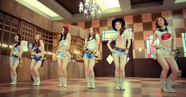 Dal Shabet Performs at Special Event for the 60th Anniversary of Korean Veterans Day