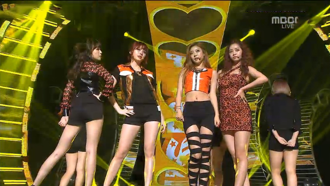 """Girl's Day Makes Their Music Core Comeback Performance With """"Don't Forget Me"""""""