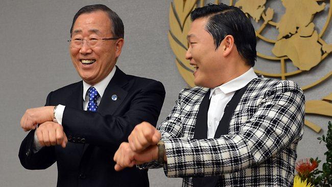 The UN Secretary General Is Jealous of PSY