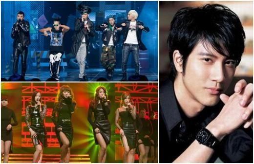 Big Bang, SISTAR and Wang Lee Hom to Perform at 2012 MAMA