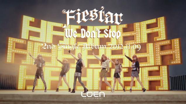 "FIESTAR Reveals Comeback MV Teaser for ""We Don't Stop"""