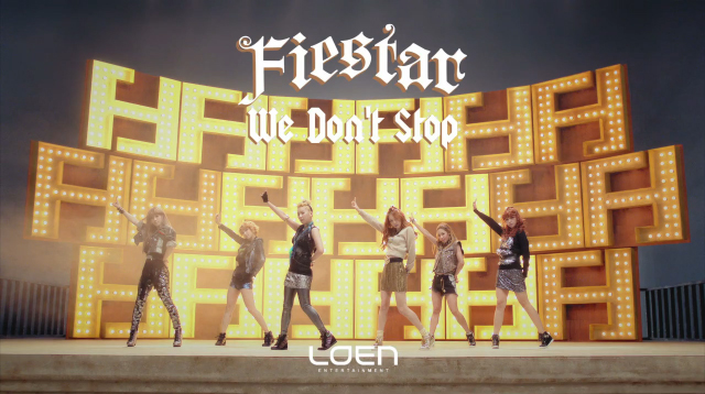 "FIESTAR Releases MV for Comeback Single ""We Don't Stop"""