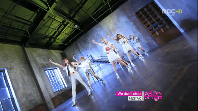 """FIESTAR Performs """"We Don't Stop"""" for Music Core Comeback"""