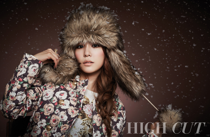 "Girls' Generation's Tiffany is a Winter Beauty for ""High Cut"" Magazine"