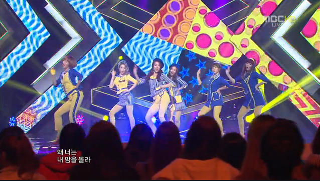 """Dal Shabet Has Their Comeback Stage for """"Have, Have Not"""" on Music Core"""
