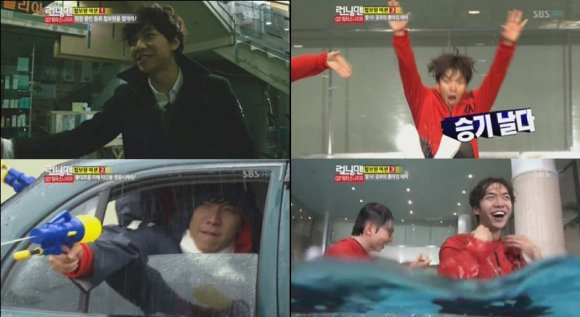 "Lee Seung Ki's ""Heo Dang"" Charms and Variety Skills Boost Ratings for ""Running Man"""