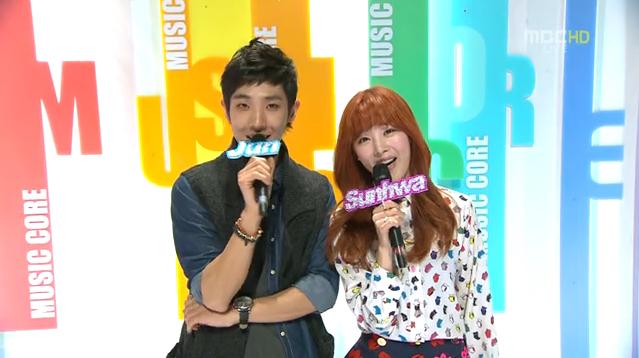 MBC Music Core 11.24.12