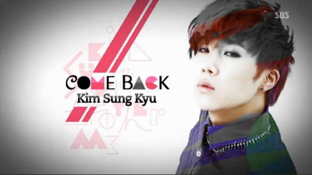 "Infinite's Kim Sung Kyu Performs ""60 Seconds"" For Solo Debut Stage on Inkigayo"