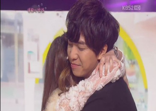 "Lee Seung Gi Plays Comedian Shin Bo Ra's Boyfriend on ""Gag Concert"""