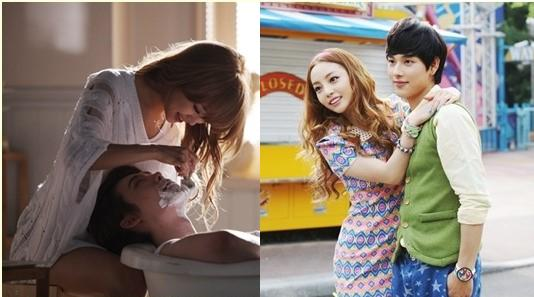Goo Hara and Nicole Play Lovers with Handsome Male Co-Stars in Their Solo MVs