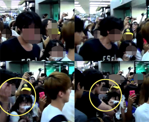 SM Manager Criticized for Hitting EXO Fan at the Airport