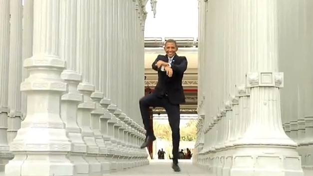 "President Obama Thinks He Can Pull Off ""Gangnam Style"" Moves"