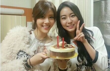 After School's Uee Cheers Son Dam Bi For Her Comeback