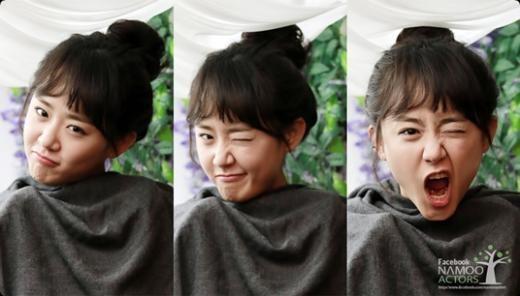 Moon Geun Young Shows Off Her Aegyo