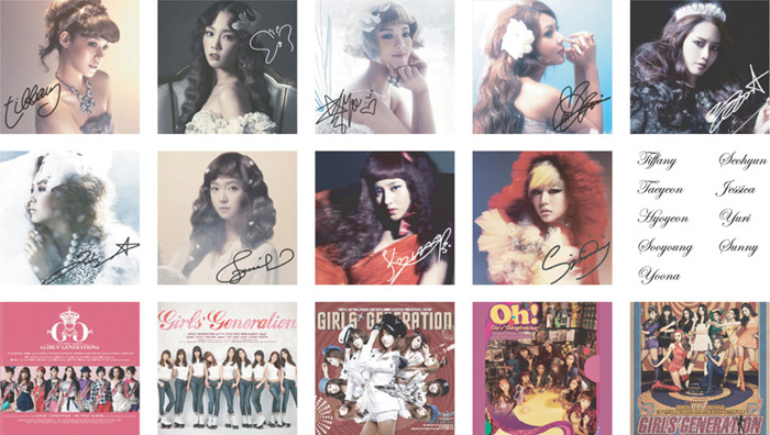 [Soompi Shop] Girls' Generation Limited Edition Special Stamp Collection