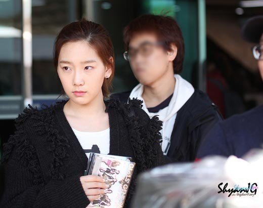 Girls' Generation's Taeyeon Looks So Cute Even With No Make-Up