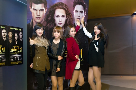 """miss A Rates """"Breaking Dawn 2"""" with a Big """"A"""""""