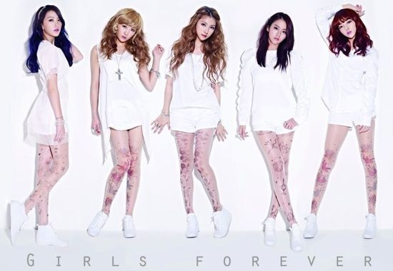 "KARA's Album ""Girls Forever"" Ranks 2nd Place on Oricon Chart"