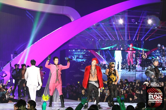 2012 MAMA Winners and Performances