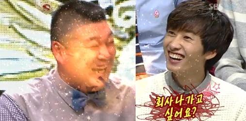 """Super Junior Eunhyuk Calls Kang Ho Dong a """"Junior"""""""