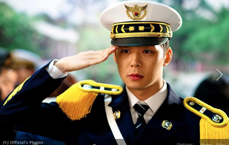 JYJ's Park Yoo Chun Looks Sexy in Uniform