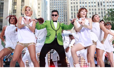 PSY Up to #5 on Billboard Hot 100 Singles Chart