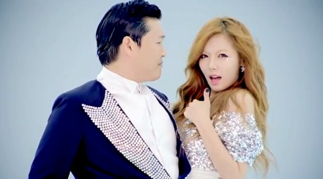 PSY and Hyuna Set a New World Record