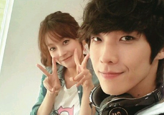 WGM Oh Yeon Seo and Lee Joon Take a Couple Shot While Handcuffed to Each Other